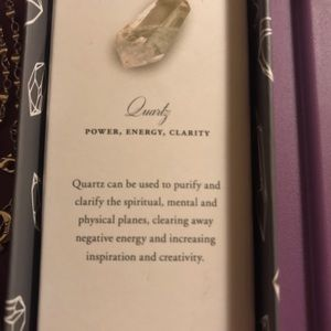 Luna Norte Jewelry - Brand New Luna Norte Quartz Pendant